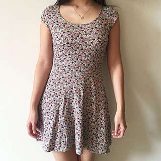 H&M Flowery Dress (100% ORI)