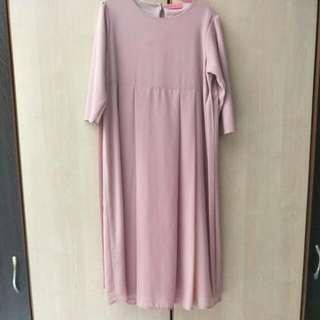 Poplook ¾ Sleeve Dress