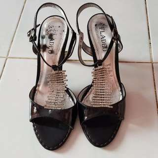 Fladeo Party Shoes Hitam Size 36