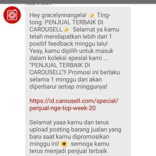 Thankyou Again Carousell! 😸