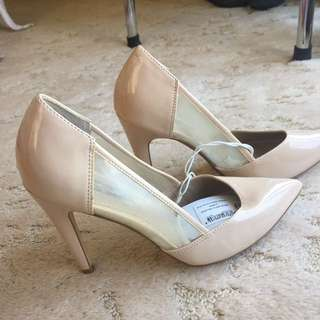 Brand New Beige Clear Heels #EOFYSALE