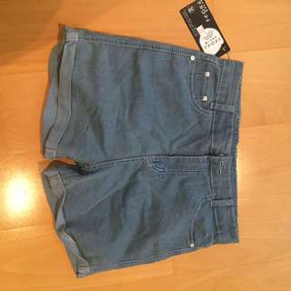 BNWT High Waist Denim Shorts