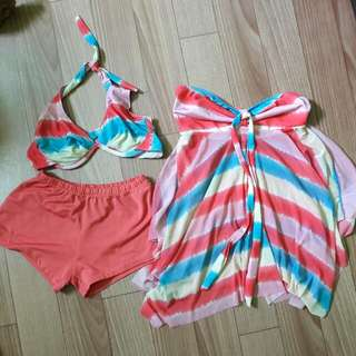 Swimsuit With Cover Up