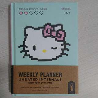 Typo Hello Kitty Weekly Planner