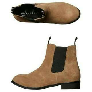 BNIB Rusty Suede Ankle Boots 5