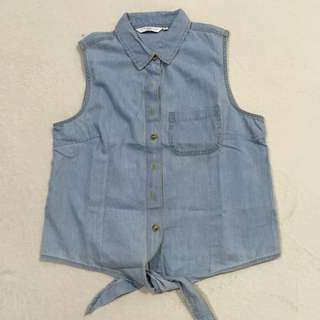 New Look Denim Top