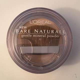 'L'Oreal' Bare Naturale Mineral Powder Foundation
