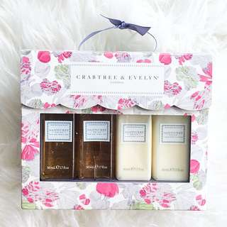 Crabtree and Evelyn Nantucket Briar Mini Body Care Gift Set
