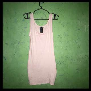 H&M Baby Pink Slim Dress
