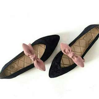 Ribbon Tie Flat shoes [ Real Pict ]