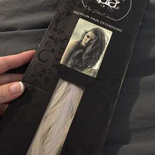 Zala Clip In Hair Extensions Blonde