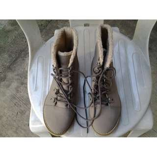 H&M Canvass Shoes Boots