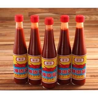 專屬於台中的老味道  【東泉】辣椒醬/甜辣醬(420ml)