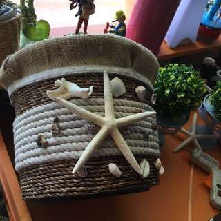 Rustic Basket For Decors