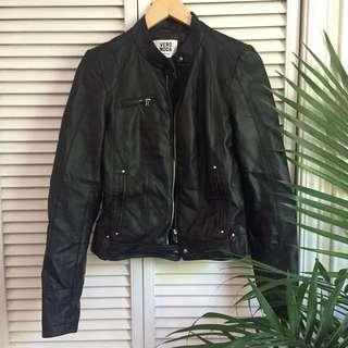 Vera Moda Black Faux Leather Jacket