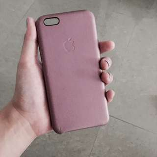 Class A leather iPhone Case For 6/6s