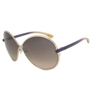 Tom Ford Stefania Sunglasses Gold Purple