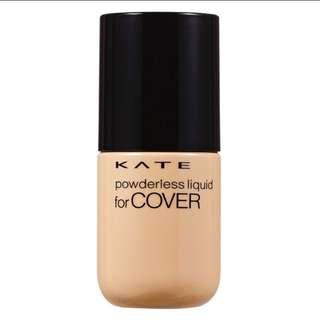 KATE 凱婷 無痕美顏粉底液