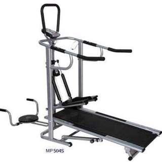Muscle Power 8022 4-Way Manual Treadmill
