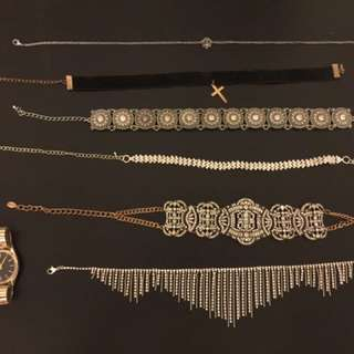 Various Chokers