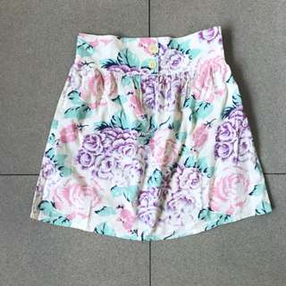 Supre Floral Mini Skirt