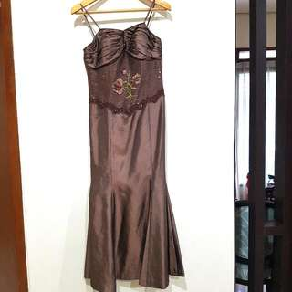 Dress Pesta Mermaid #jatuhharga
