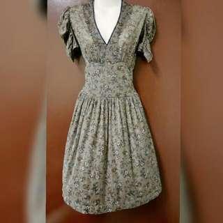 Preloved Mango Vintage Dress (size UK:S, USA:XS)