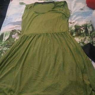 Terranova Green Dress