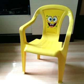 Sponge Bob Kids Chair ( 海綿寶寶 膠椅)