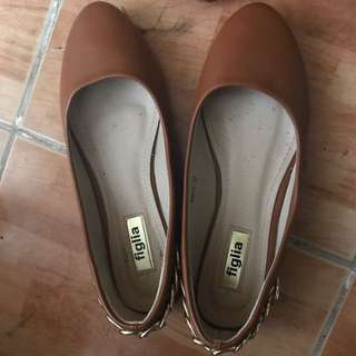 🌟Brown Figlia Doll Shoes