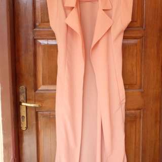 Peach Long Outer