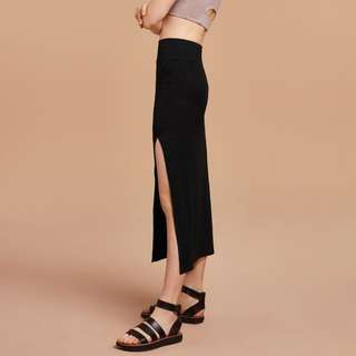 "Aritzia WILFRED FREE Black ""Shields"" Skirt"