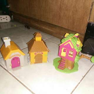 mini toy houses