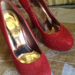 party red shoes