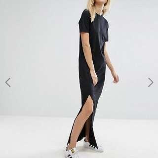 ASOS Tall basic T-shirt Casual Maxi Dress