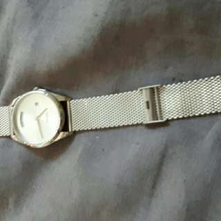 Mimco Kinetica Watch Silver