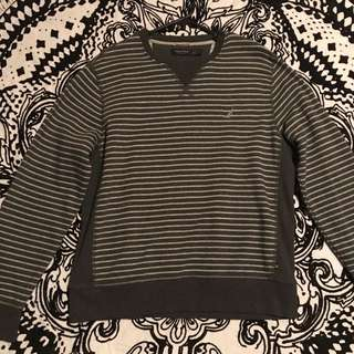 Men's Striped Nautica Pull Over Jumper