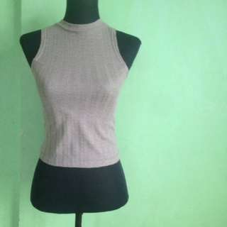 Halter Turtle Neck