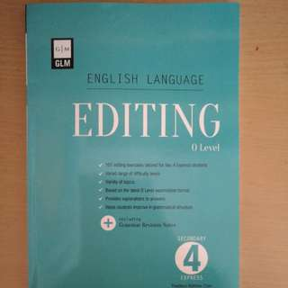 English Language Editing O Level Sec 4 Express