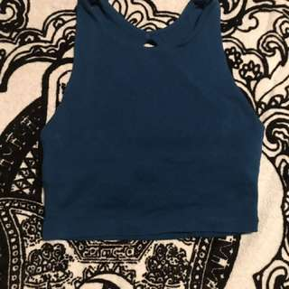 Blue Kookai Cropped Top