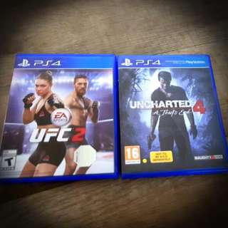 UFC 2 and Uncharted 4