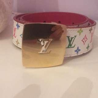 💯AUTHENTIC LV Monogram Belt