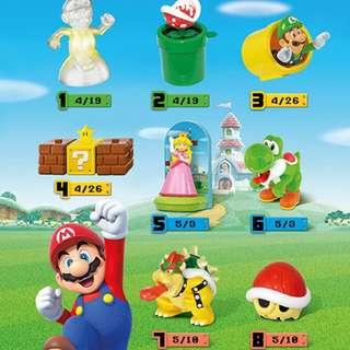 2017麥當勞 瑪利歐 SUPER MARIO 兒童餐玩具 瑪莉歐 (現貨)