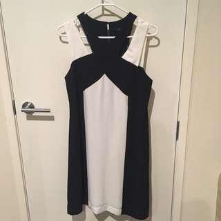 Black And White Stella Dress