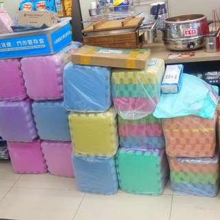 接縫緊密好清潔 巧拼安全防撞比邊條更便宜遊戲地墊兒童軟墊
