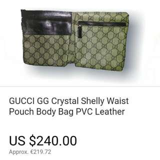 (Repriced)Original Gucci Vintage waist bag