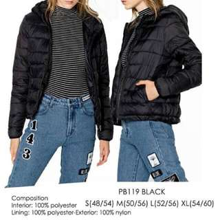 pull&bear nylon jacket (600 to 250)