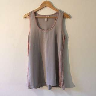 Piper Women's T-Shirt Dress Pink Grey