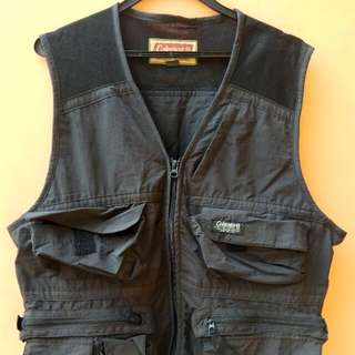 Original Coleman Outdoor Vest (Fishing, Hiking, Photography)