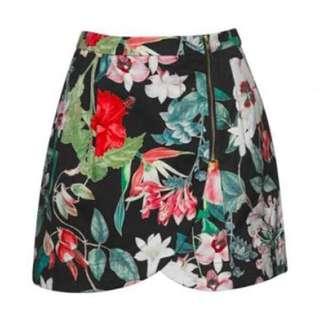 Ruby Petal Skirt